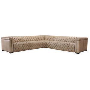 Living Room Savion Corner w/ Power Headrest SC Component