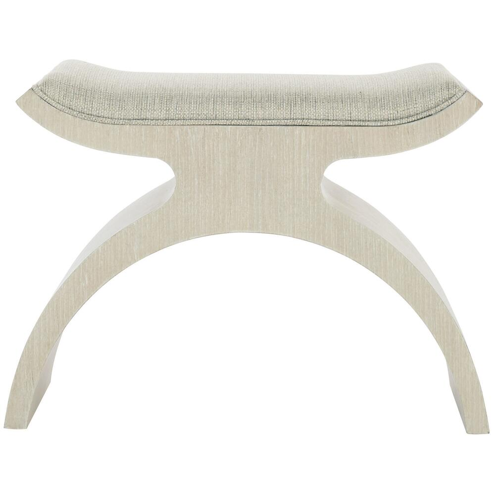 East Hampton Bench in Cerused Linen (395)