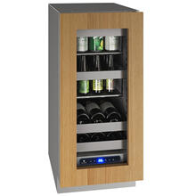 "See Details - Hbv515 15"" Beverage Center With Integrated Frame Finish and Field Reversible Door Swing (115 V/60 Hz Volts /60 Hz Hz)"