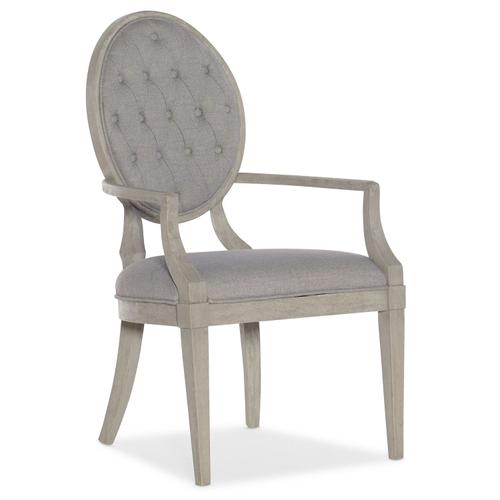 Dining Room Reverie Tufted Arm Chair - 2 per carton/price ea