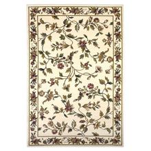 "Cambridge 7331 Ivory Floral Vine 5'3"" X 7'7"""