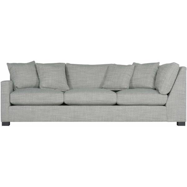 Kelsey Left Arm Return Sofa in Mocha (751)