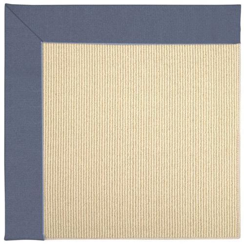 "Creative Concepts-Beach Sisal Canvas Sapphire Blue - Rectangle - 24"" x 36"""