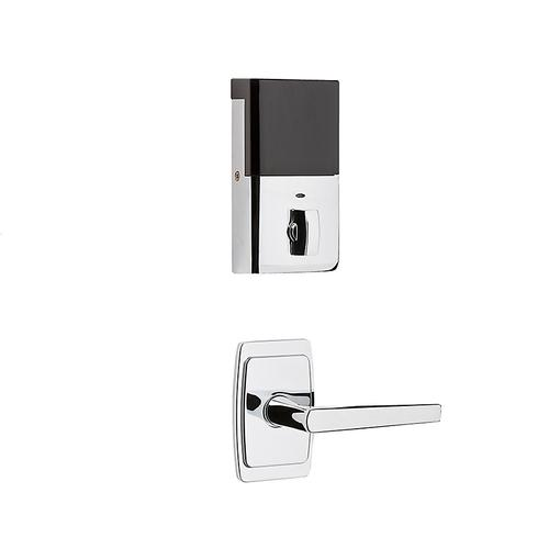 Polished Chrome Evolved Palm Springs 3/4 Escutcheon Handleset