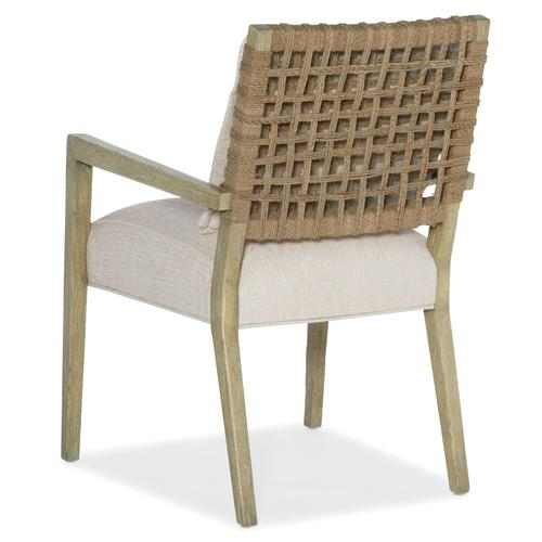 Dining Room Surfrider Woven Back Arm Chair-2 per ctn/price ea