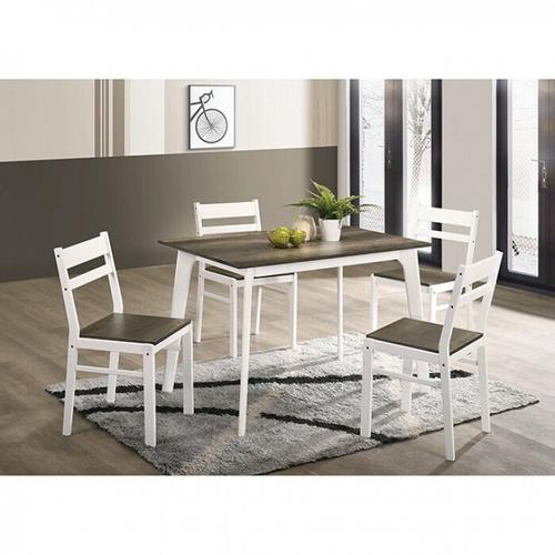 Furniture of America - Debbie 5 Pc. Dining Table Set