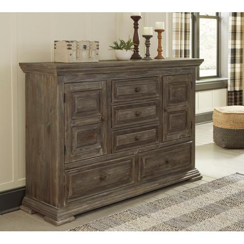 Wyndahl Dresser Rustic Brown