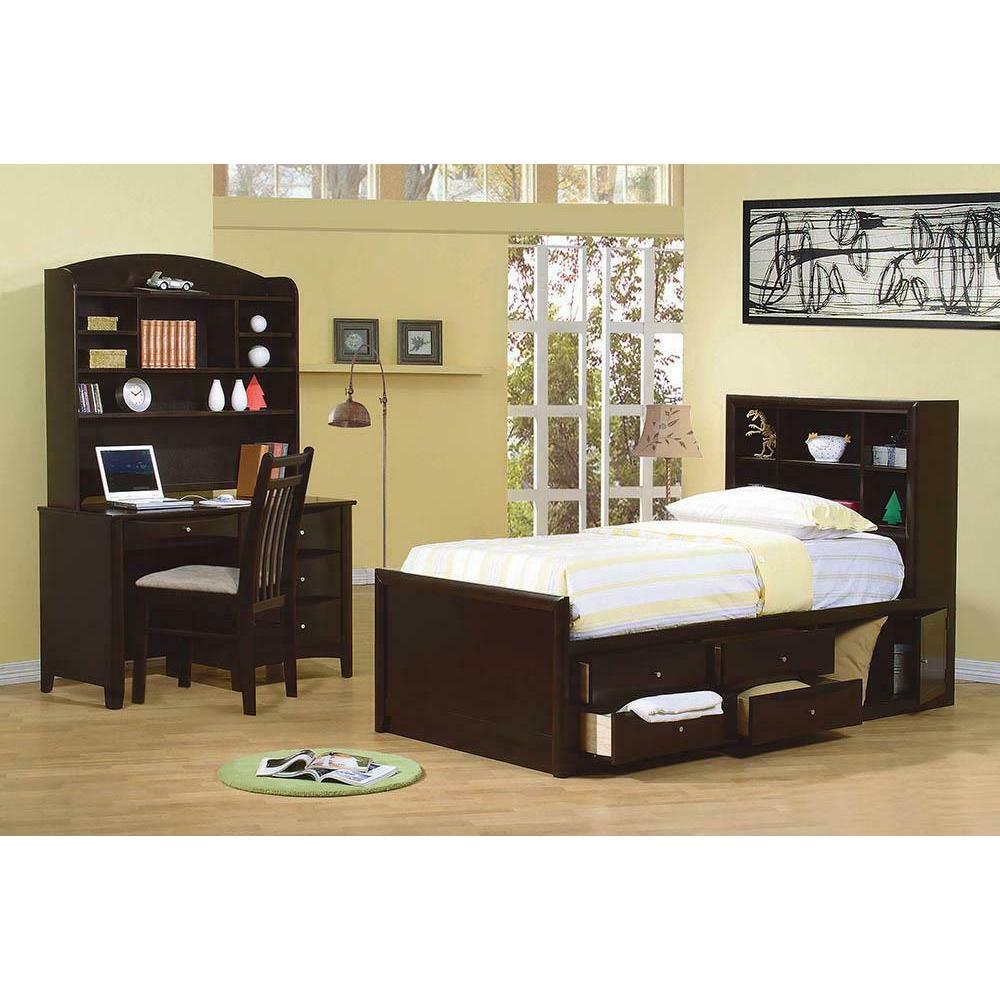 Phoenix Full Bookcase Bed