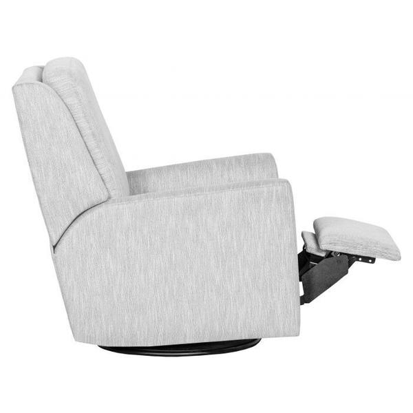 See Details - Hickory Arm Power Swivel Glider Recline