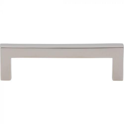 Vesta Fine Hardware - Simplicity Bar Pull 3 3/4 Inch (c-c) Polished Nickel Polished Nickel