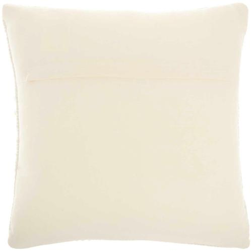 """Life Styles Gc380 Ivory 18"""" X 18"""" Throw Pillow"""
