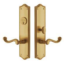 Vintage Brass Bristol Entrance Trim