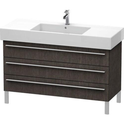 Product Image - Vanity Unit Floorstanding, Brushed Dark Oak (real Wood Veneer)