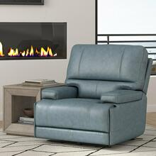 WHITMAN - VERONA AZURE - Powered By FreeMotion Power Cordless Recliner