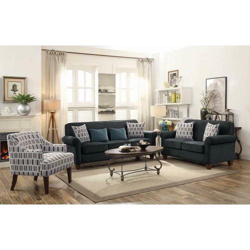 Gideon Transitional Graphite Sofa