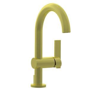 Satin Brass - PVD Single Hole Lavatory Faucet