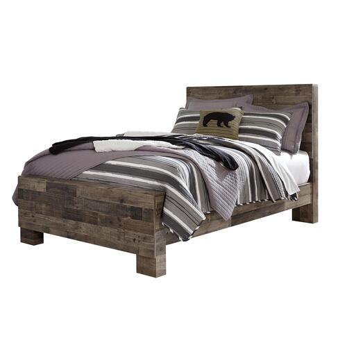 Derekson 4 Pc  Full Bedroom Set Multi Gray