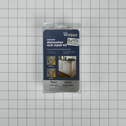 KitchenAid - Dishwasher Rack Repair Kit, Grey - Other