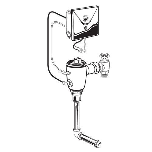 American Standard - Selectronic Concealed Flush Valve for Back Spud Urinal  American Standard - No Finish