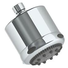3 Function Antiscale Shower Head 1.75 Gpm @ 80 Psi