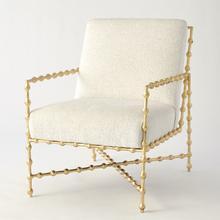 See Details - Elder Lounge Chair-Gold Leaf-COM