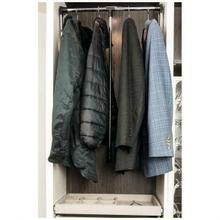 """See Details - Heavy-Duty 45 Pound Capacity Expandable Wardrobe Lift for 33"""" - 48"""" Openings"""