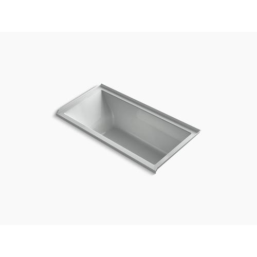 "Ice Grey 60"" X 30"" Alcove Vibracoustic Bath With Right-hand Drain"