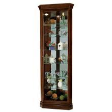 See Details - Howard Miller Drake Corner Curio Cabinet 680483