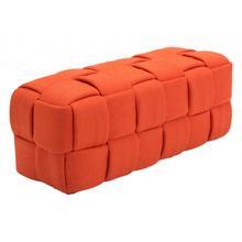 Checks Bench Orange