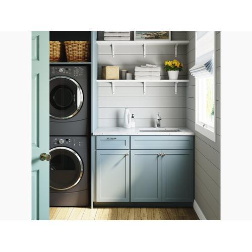 Matte Black 4.0 Gpm Laundry Faucet
