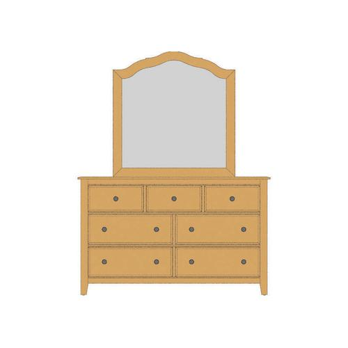 Loft Triple Dresser - 7 Drawers