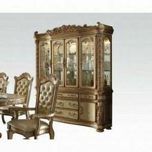 ACME Vendome Hutch & Buffet - 63005 - Gold Patina & Bone