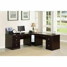ACME Cape Computer Desk - 92031 - Espresso