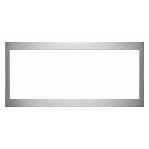 KitchenAid - Built-In Low Profile Microwave Slim Trim Kit, Stainless Steel - Other