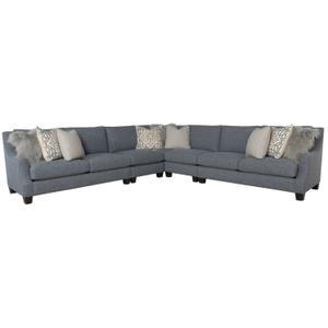 Larson Sectional in Mocha (751)