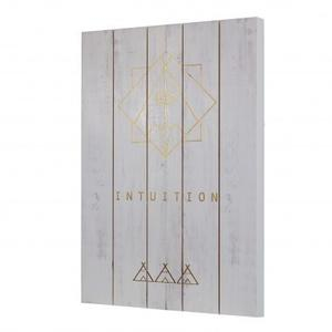 Gold Foil Intuition Drawing