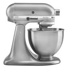 See Details - Ultra Power® Series 4.5-Quart Tilt-Head Stand Mixer Contour Silver
