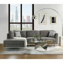 ACME Varali Sectional Sofa - 54555 - Gray Linen