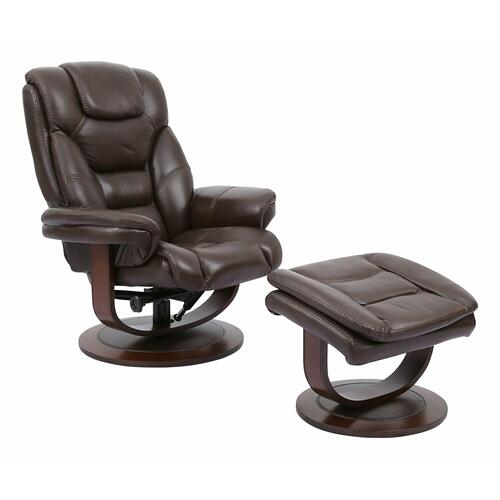 Parker House - MONARCH - ROBUST Manual Reclining Swivel Chair and Ottoman