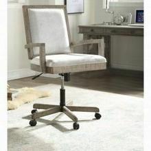 ACME Artesia Executive Office Chair - 92320 - Fabric & Salvaged Natural
