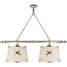View Product - E. F. Chapman Grosvenor 4 Light 51 inch Polished Nickel Linear Pendant Ceiling Light
