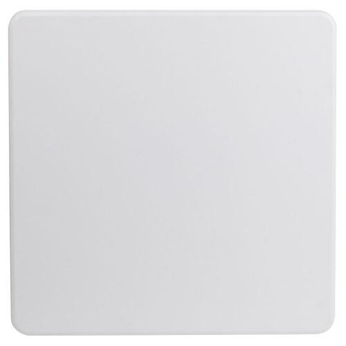 34'' Square Granite White Plastic Folding Table