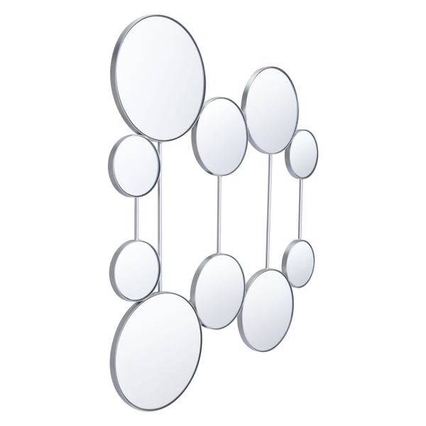 See Details - Cery Round Mirrors Silver