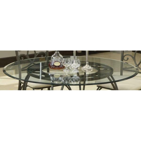"""See Details - 45"""" Round Glass Dining Table Top"""