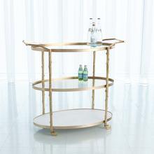 See Details - Arbor Bar Cart-Brass