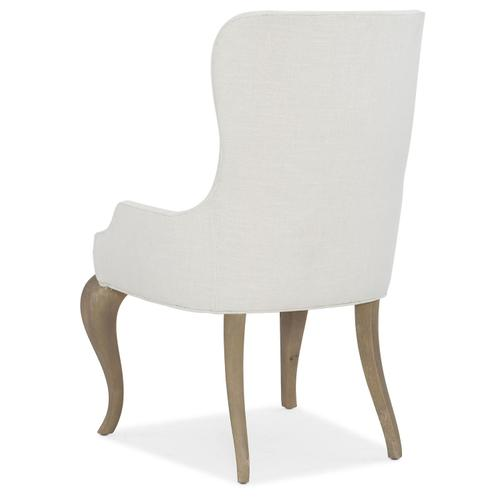 Dining Room Modern Romance Upholstered Arm Chair - 2 per carton/price ea