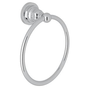 Polished Chrome San Giovanni Wall Mount Towel Ring Product Image