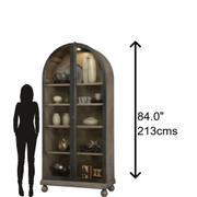 Howard Miller Naomi II Curio Cabinet 670056 Product Image