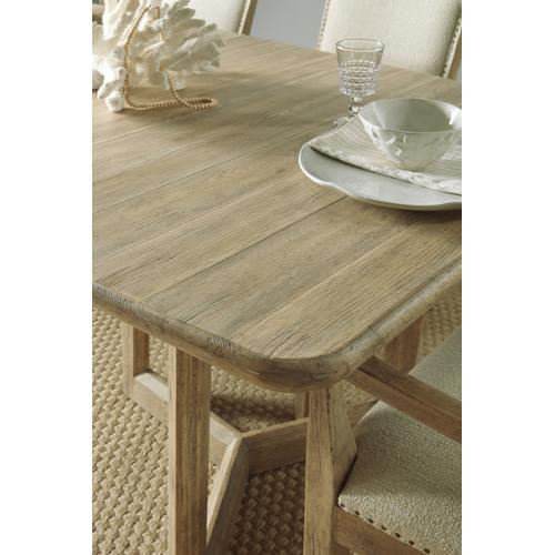 Hooker Furniture - Surfrider Rectangle Dining Table w/2-18in leaves