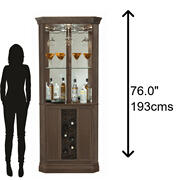 690-045 Piedmont IV Corner Wine & Bar Cabinet Product Image